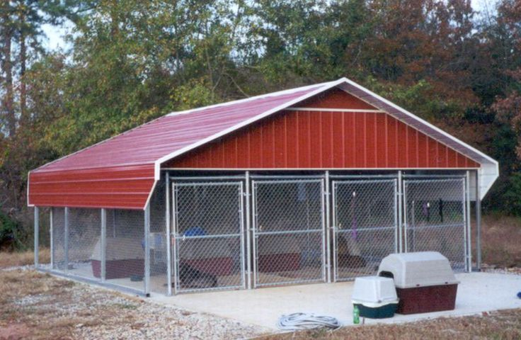 The 25+ Best Outdoor Dog Kennels Ideas On Pinterest