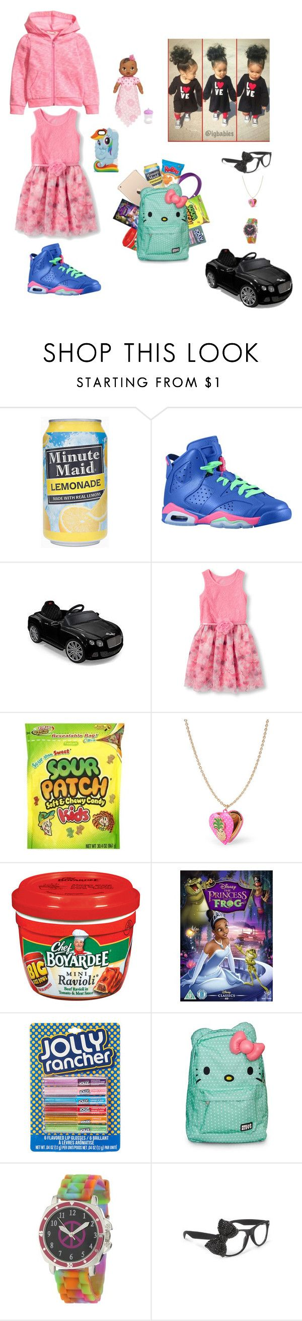 """Untitled #384"" by diamond-krys ❤ liked on Polyvore featuring H&M, Beats by Dr. Dre, Retrò, Hasbro, The Children's Place, Hello Kitty and My Little Pony"