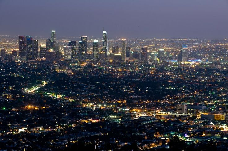 The Los Angeles skyline will look like this when the Wilshire Grand Tower is completed.