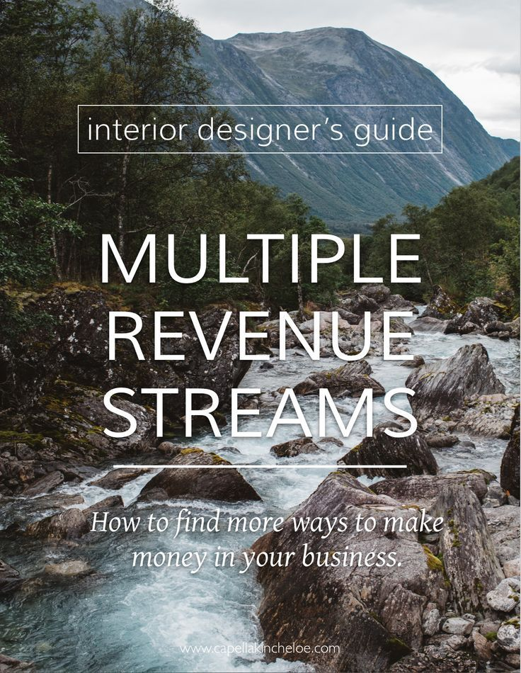 Multiple Revenue Streams For Interior Designers Capella Kincheloe Interior Design Career Interior Design Bloggers Interior Design Software