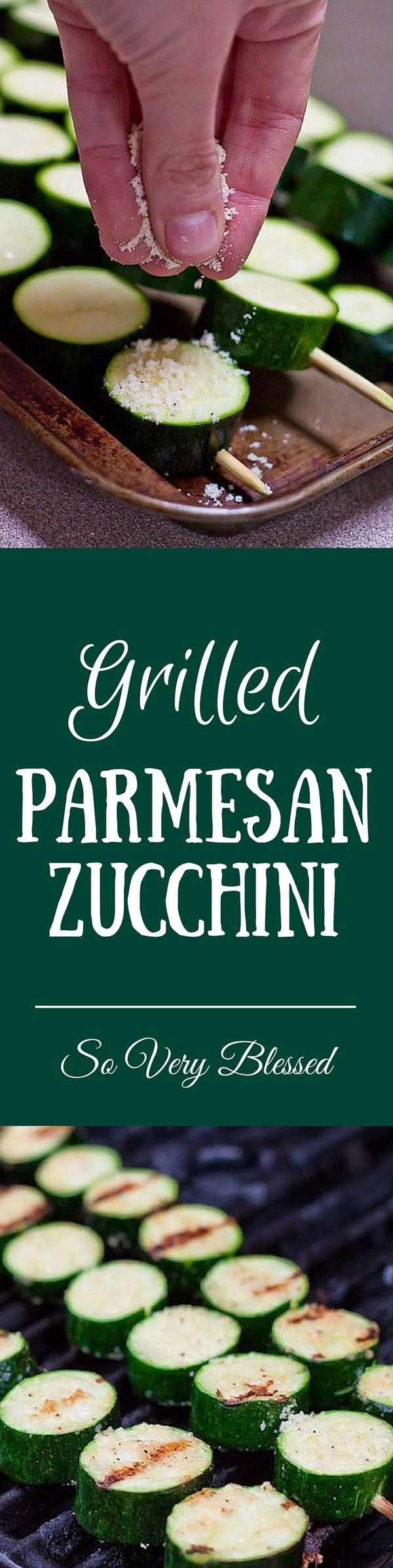 Toss some of these on the grill tonight!   SoVeryBlessed.com #grilling #summer #zucchini