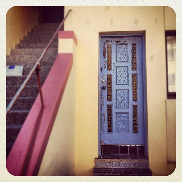 Bondi Blue Door #bondi #atbondi #door #architecture