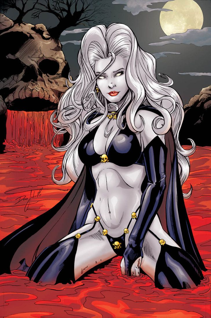 So Hot I Dont Think She Could Ever Look Bad  Lady Death -2104