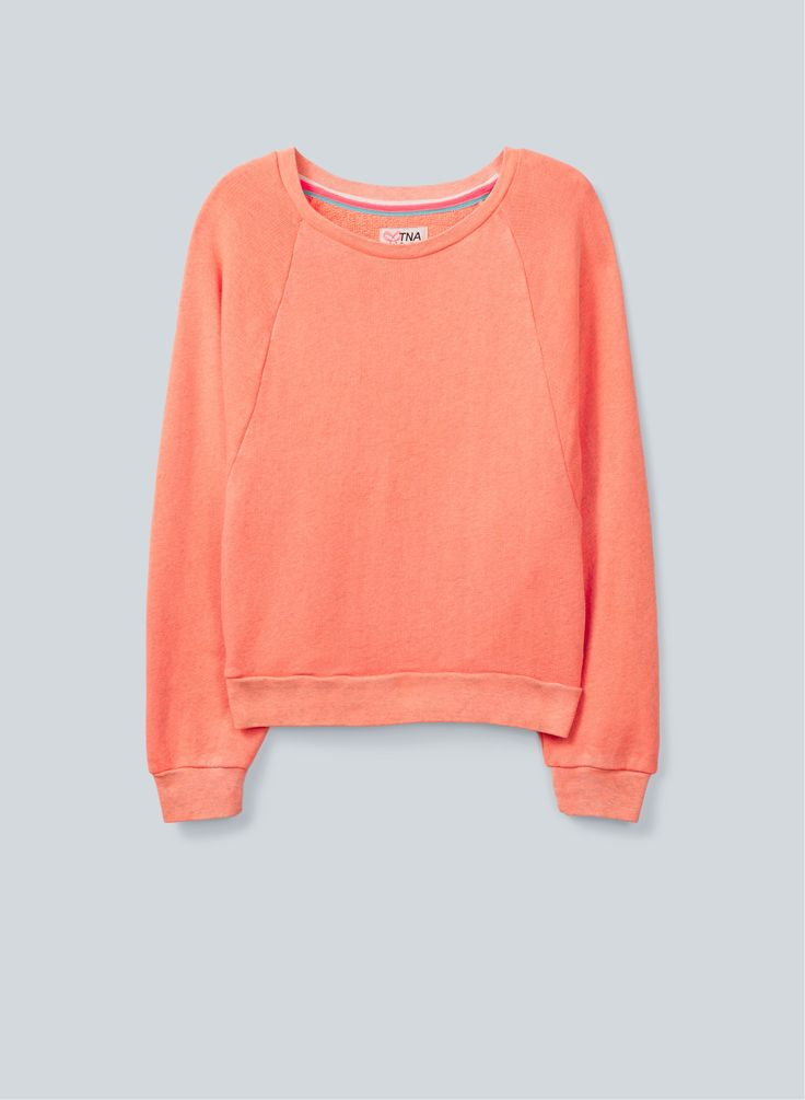 TNA Biome Sweater, $55, available at Aritzia.com.