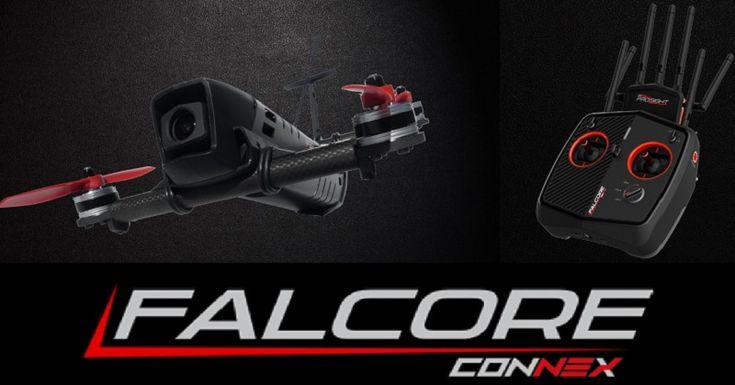 Amimon Falcore HD FPV: High-end racing drone