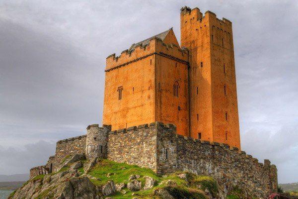 Kilcoe Castle, Ballydehob, графство Корк
