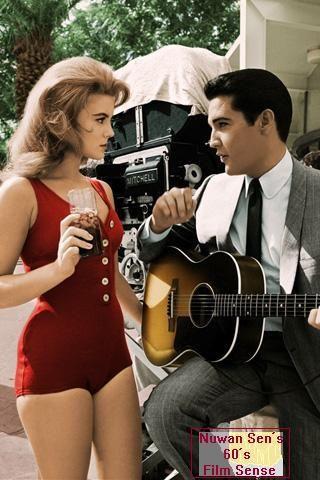 Elvis Presley & Ann-Margret on the sets of Viva Las Vegas (1964)