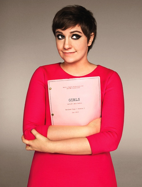 We love Lena Dunham's accomplishments! #GirlPower #SnapandStyle