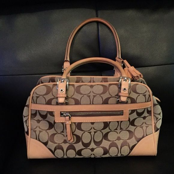 Like New Coach Satchel I used this bag for less than 24 hours before I Realized this is not my color.  It was purchased several years ago at a retail store (non outlet) and in perfect condition.  Price firm, but reasonable offers accepted Coach Bags Satchels