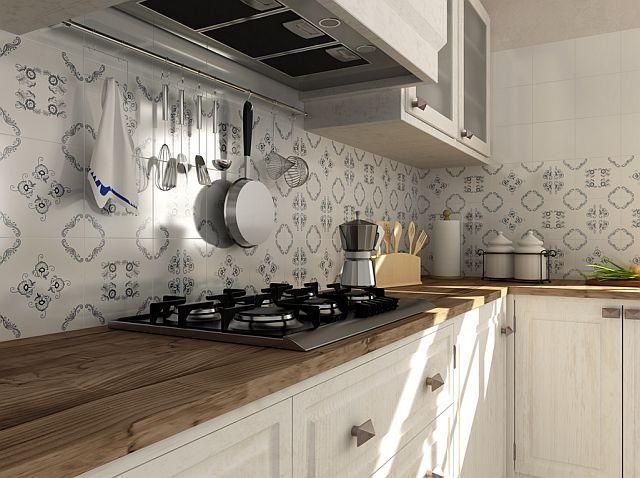 co na ścianę nad blatem kuchennym - Szukaj w Googlepiękne wykończenie z płytek!!