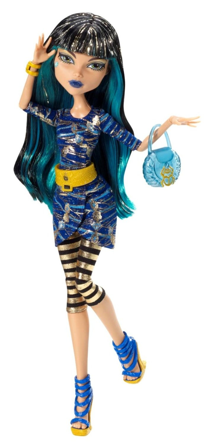 Amazon.com: Monster High Picture Day Cleo De Nile Doll: Toys & Games