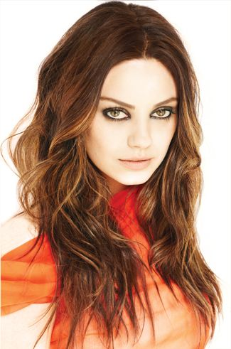 Mila Kunis. Hair.