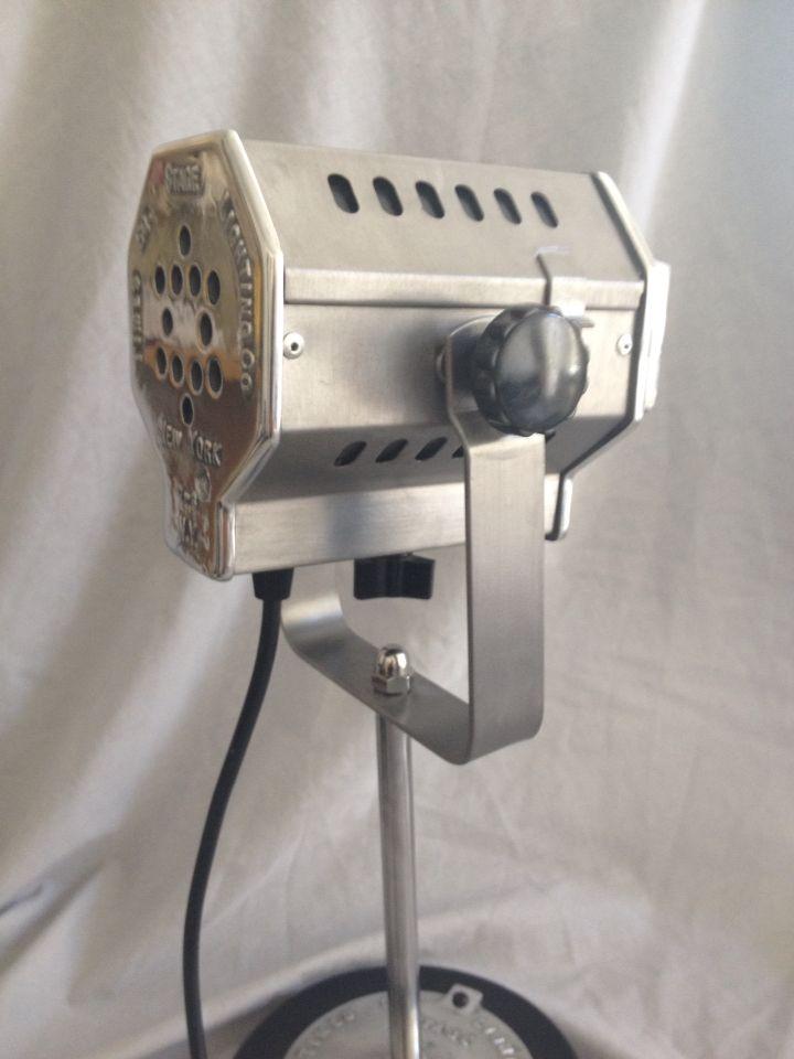 Desk Light From A Vintage Mini Spotlight Stage Lighting