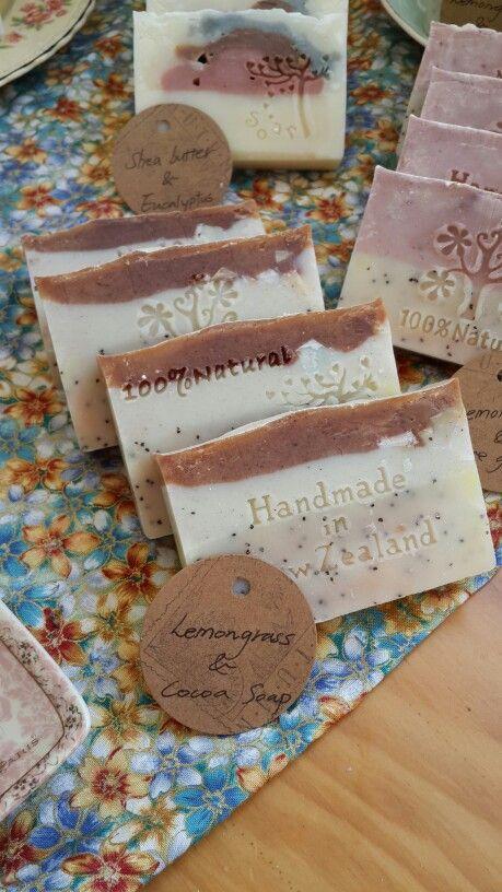 Lemongrass & Cocoa Handmade Soap