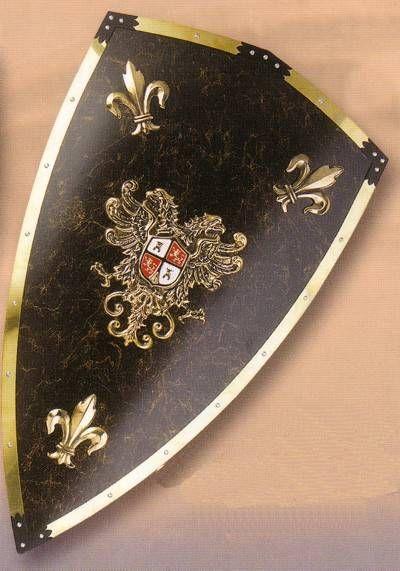 Escudo medieval                                                                                                                                                     Más