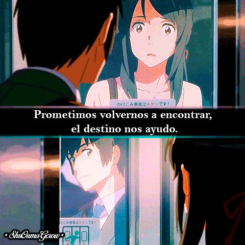 Prometimos volvernos. #ShuOumaGcrow #Anime #Frases_anime #frases