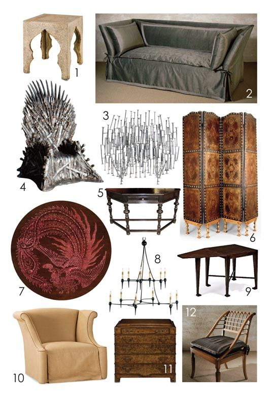 Patrick's Game of Thrones Inspired King's Chamber Dream Living Room
