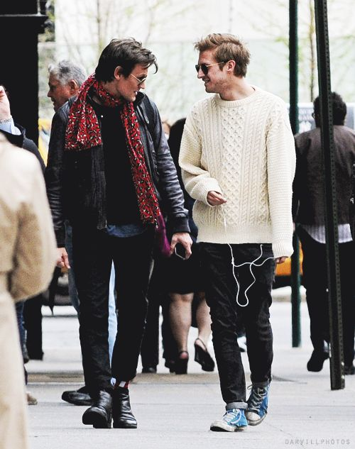 Matt Smith + Arthur Darvill I need a pet hipster. @nova Friedman i think you'll appreciate their clothes…..