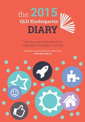The Queensland Kindergarten Diary 2015 PREORDER