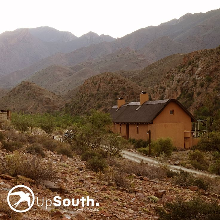 Our accommodation, surrounded by the beautiful Swartberg Mountains! #adventure #travel #accommodation #southafrica