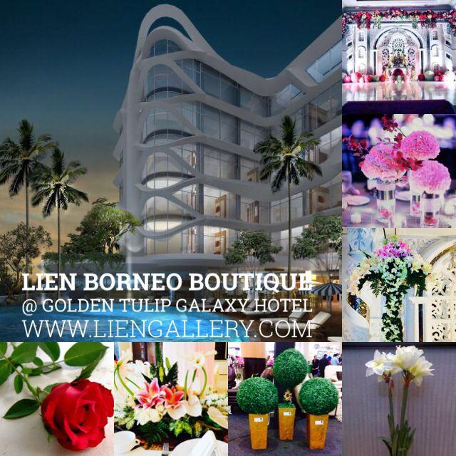Lien Borneo Boutique @ Golden Tulip Galaxy Hotel  #surabaya_florist #LienFlowerDecoration #tokobunga #tokobunga_surabaya #delivery_florist_indonesia #florist #fleurs #flower_arrangement #florist_banjarmasin #bunga_meja #bungameja #bouquet #rangkaian_bunga #Indonesia #liengallery #www.liengallery.com #tokobunga_banjarmasin