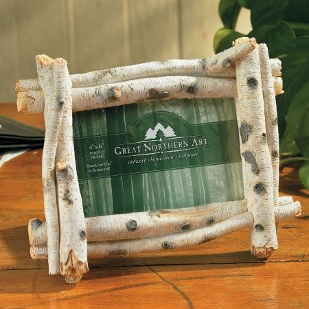 Exceptional Birch 4x6 Picture Frame   I Could Make This :). 4x6 Picture FramesLog  FurnitureBirch ...