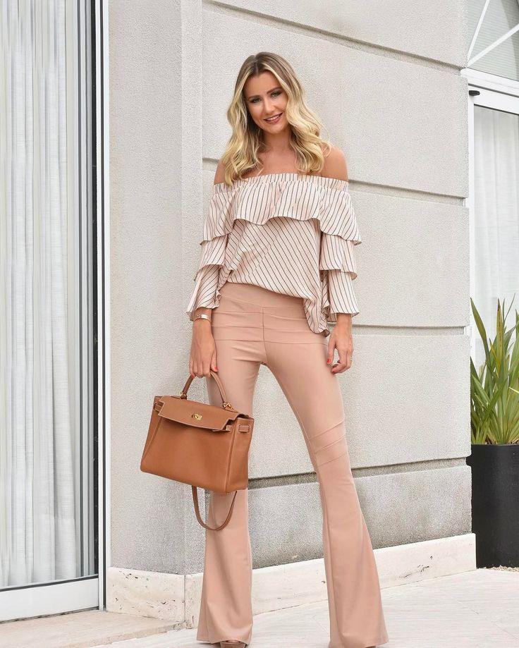 Calça bandagem: 50 looks estilosos com essa peça confortável e versátil | Stylish office wear, Spring outfits, Fashion