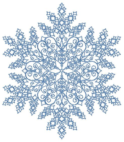 Machine Embroidery Designs Free Standing Lace Christmas Snowflake