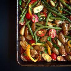 legumes grilles au four