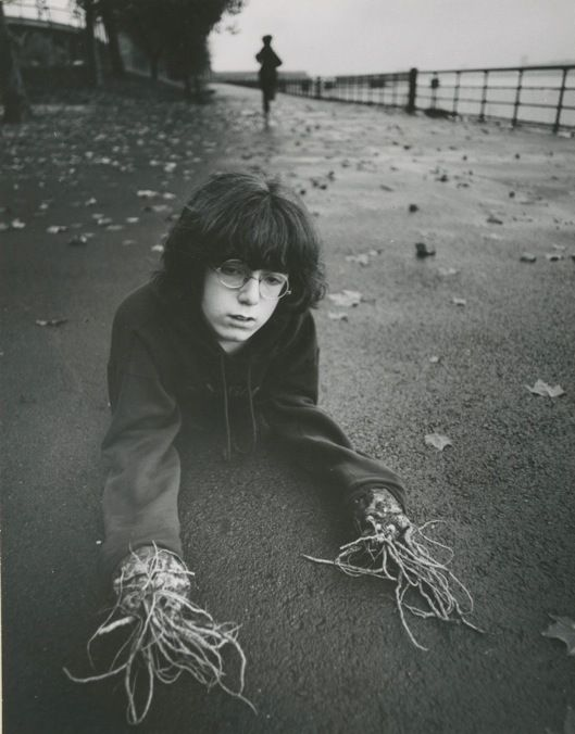 Arthur Tress. Photographs from the late 1960s and early '70s. He asked children to describe their fantasies and nightmares and then immortalized them in staged photographs.