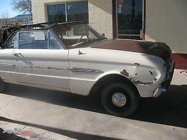 Ford: Falcon Convertible – 1963 Falcon Futura