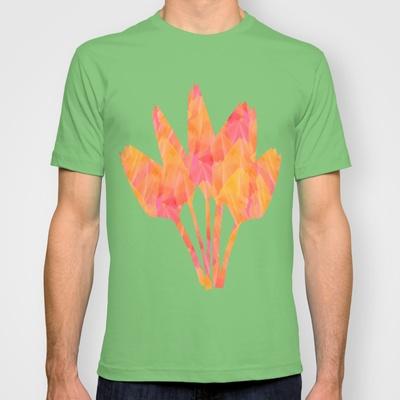 Tulip Fields #105 T-shirt by Gréta Thórsdóttir - $22.00