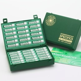 Travel Homeopathy Kit