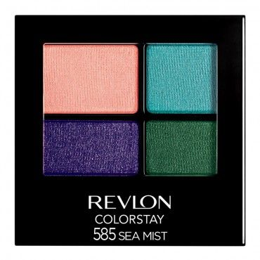 Pisces are know for their bold eye looks, recreate them using the Revlon ColorStay 16 Hour Eye Shadow.