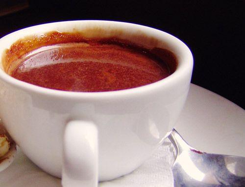 Hot Dark Chocolate Healthy Recipe