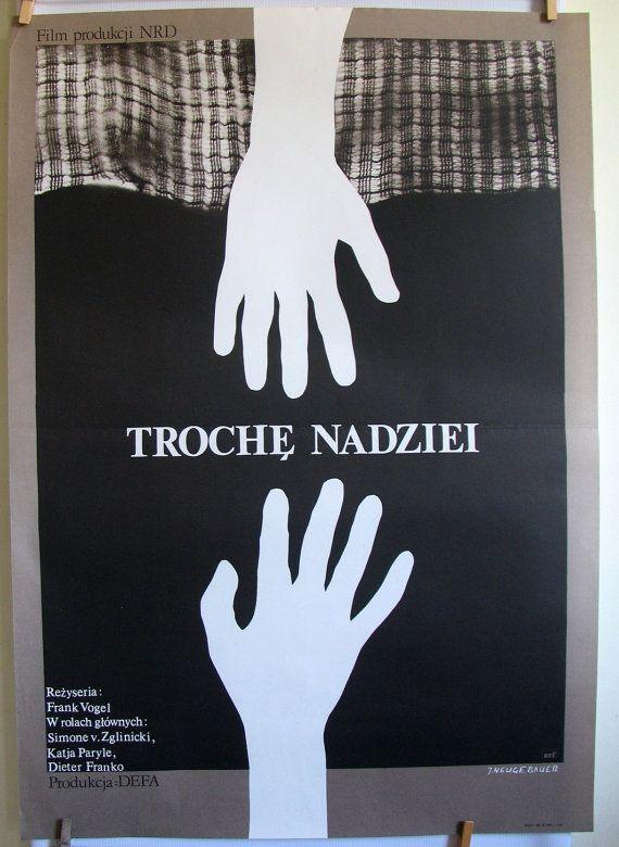 East German film  Eine Handvoll Hoffnung original by artwardrobe, $23.00