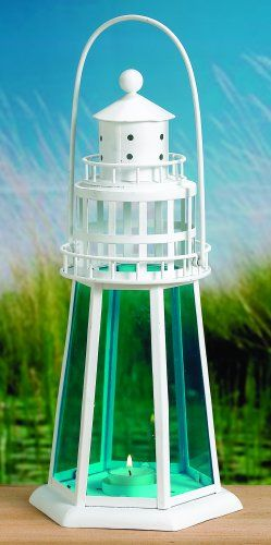 Lantern Lighthouse DIY Centerpiece Nautical Beach Wedding