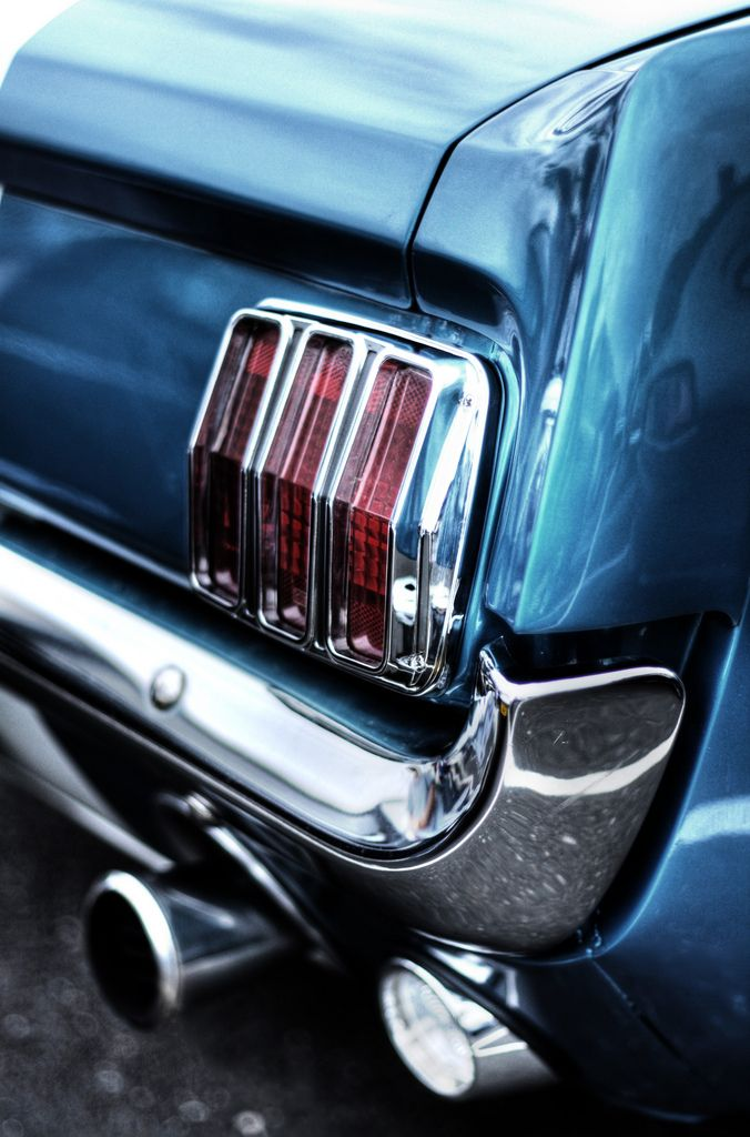 Mustang 1966 Rear Light