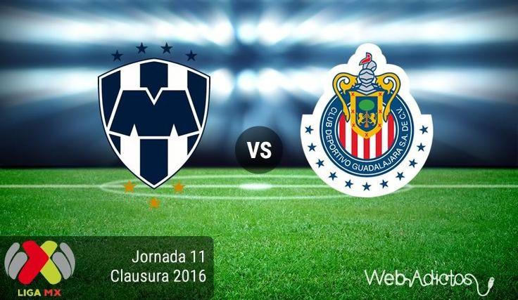 Monterrey vs Chivas, Jornada 11 del Clausura 2016 ¡En vivo por internet! - https://webadictos.com/2016/03/19/monterrey-vs-chivas-j11-del-clausura-2016/?utm_source=PN&utm_medium=Pinterest&utm_campaign=PN%2Bposts