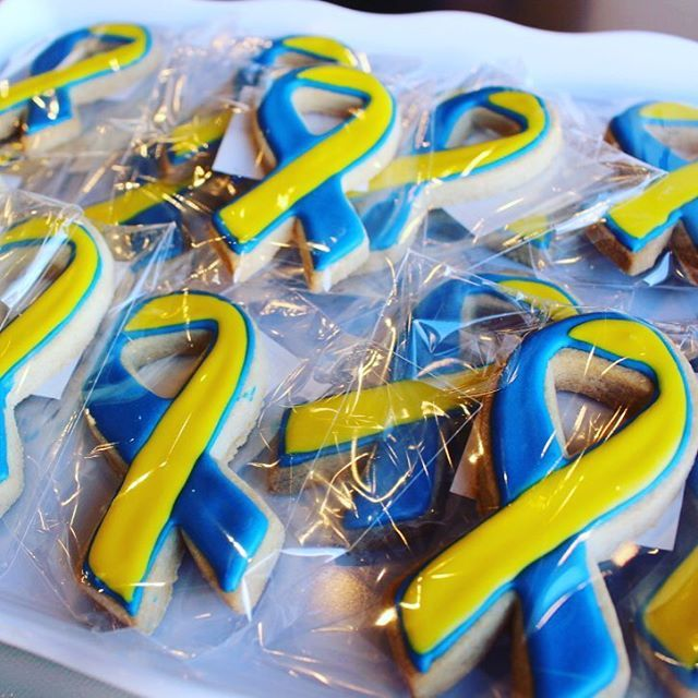 Get your awareness ribbons in support of World Down Syndrome Day from…