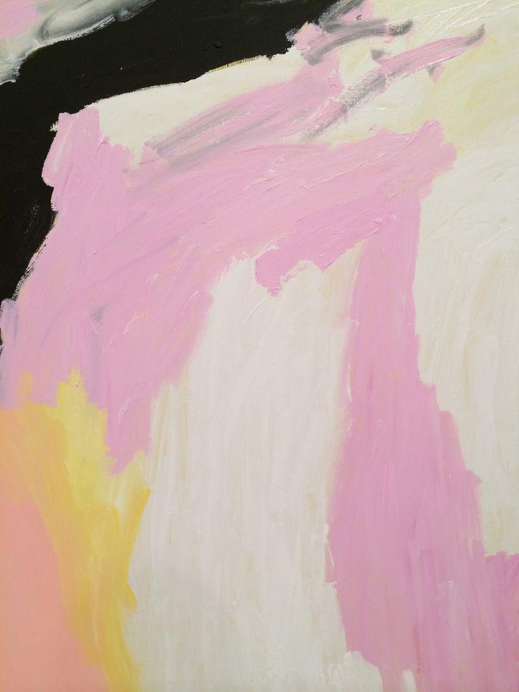 """Detail of """"Thundi"""" 2010 by Sally Gabori."""