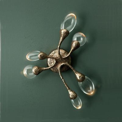 ochre lighting  nouvelle applique en bronze