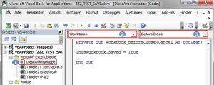 """How To SAP BI - """"Änderungen speichern"""" Abfrage in Excel Analysis unterdrücken"""