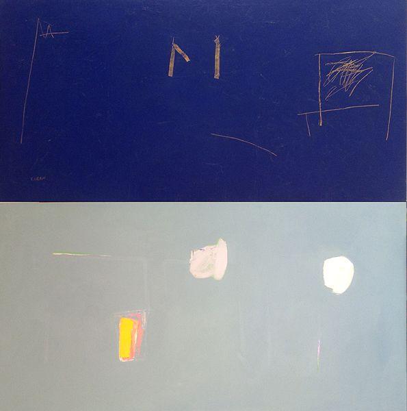 Mladen KARAN | Great Blue/Grey | Contemporary art in Florence