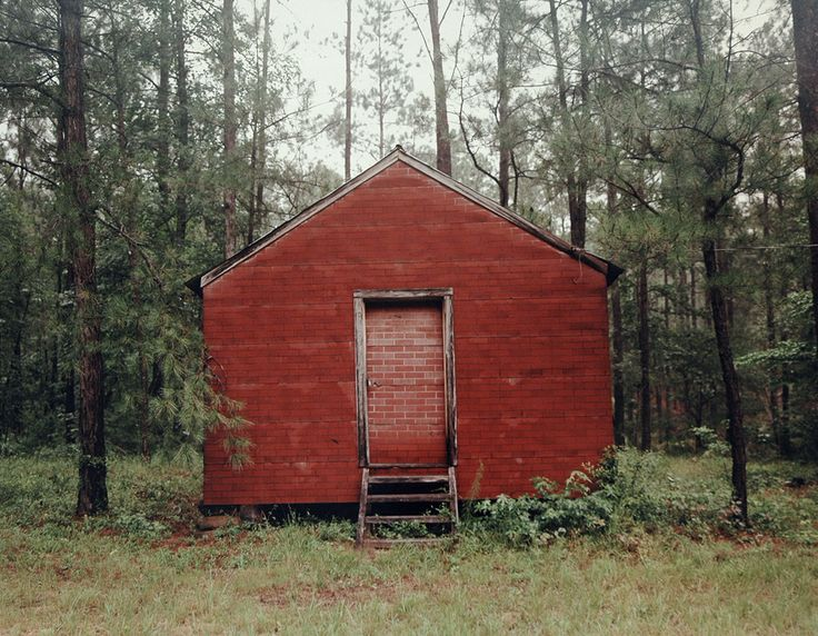 William Christenberry's color photographs of the rural South describe the slow passage of time with plain-spoken eloquence.