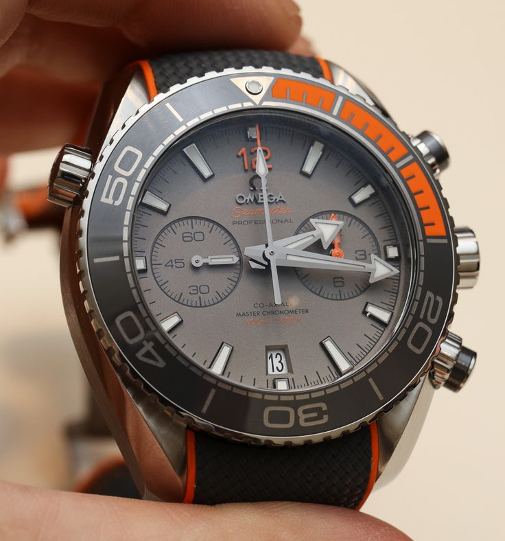 Omega Seamaster Planet Ocean Master Chronometer Chronograph Watches Hands-On | aBlogtoWatch