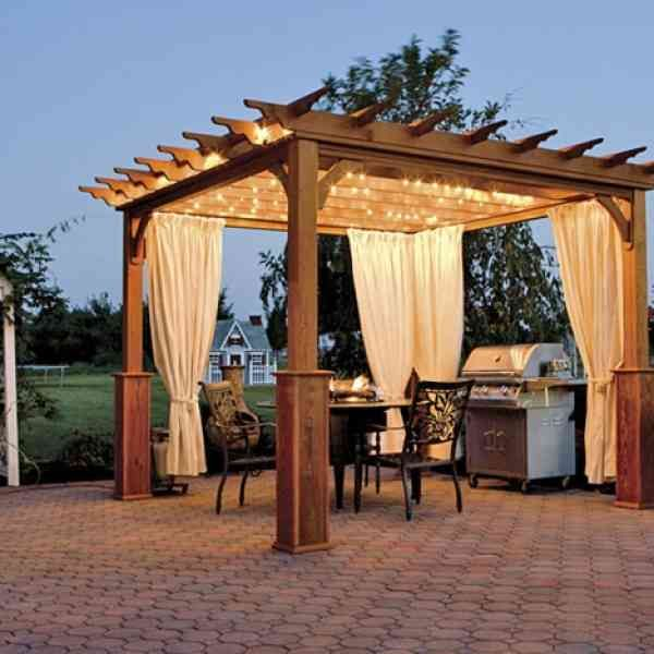 1000 id es sur le th me pergola bois sur pinterest. Black Bedroom Furniture Sets. Home Design Ideas