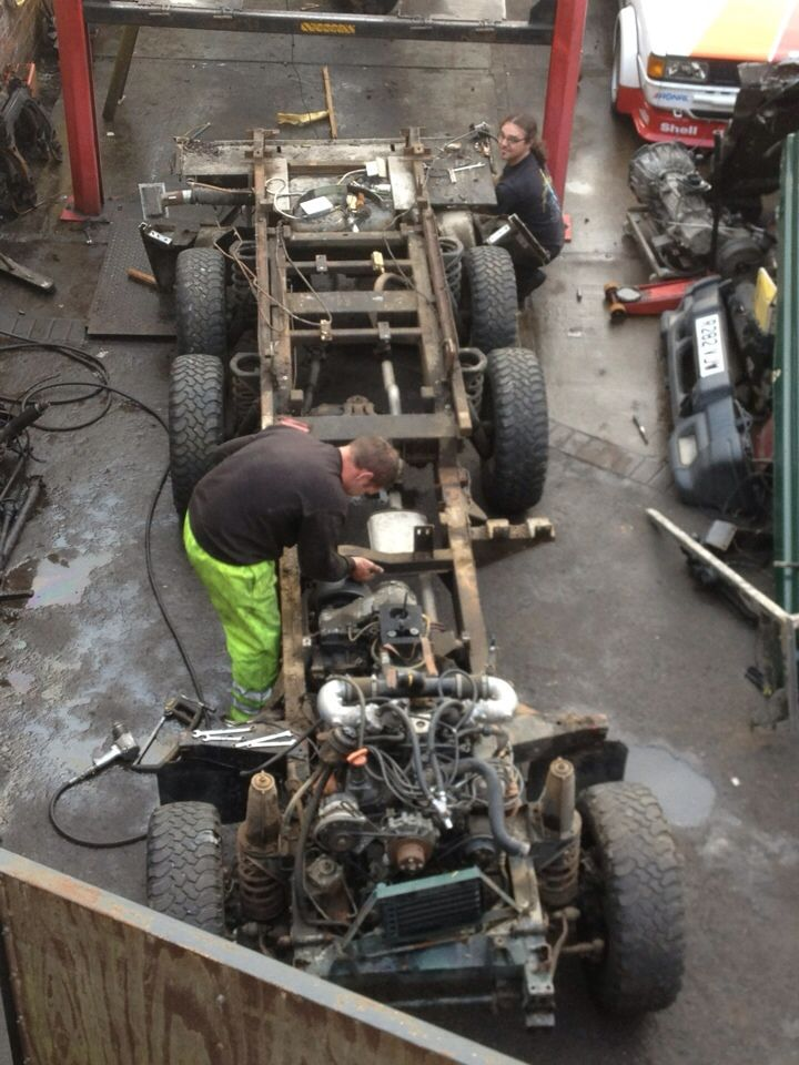 Tonks4x4 Defender 6x6 Camper Project | auto | 6x6 truck, Land rover