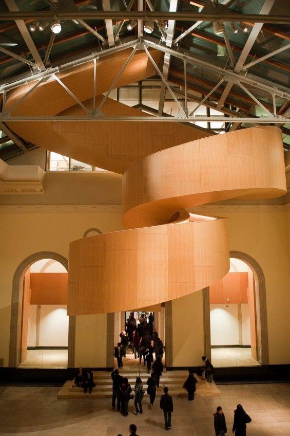Unique Spiral Stairs Design Ideas