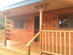 Star Log Cabins pre built cabins from LaCrosse, WI